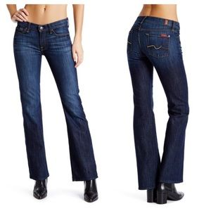 7 For All Mankind Bootcut Jeans Size 28
